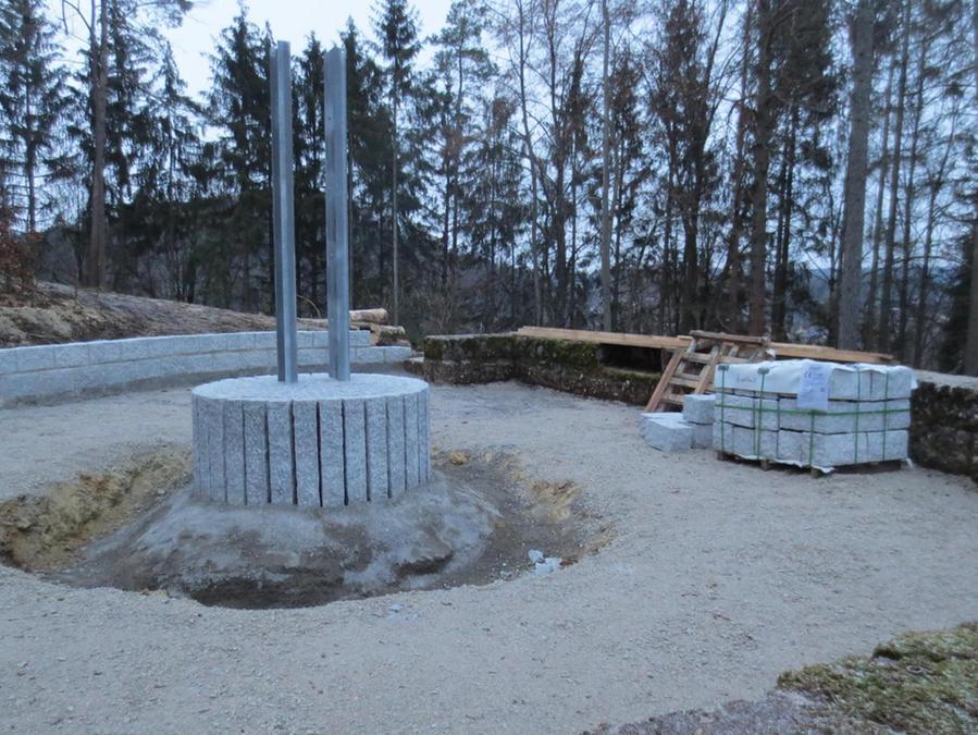 Neuer Friedhof wird verschönert